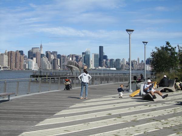 Die neue Uferpromenade 2011 (eigenes Foto)