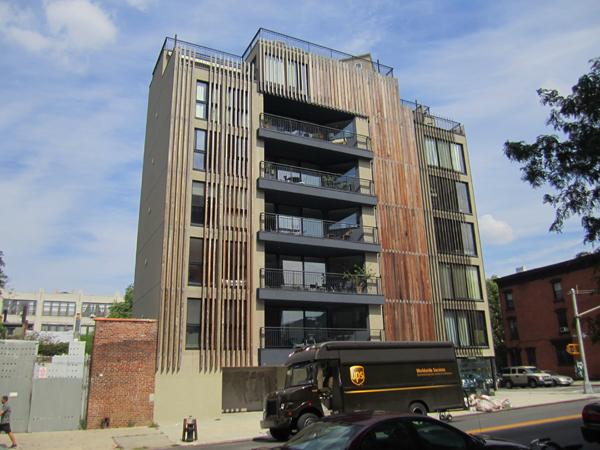 Neues Wohnen in Williamsburg (eigenes Foto)