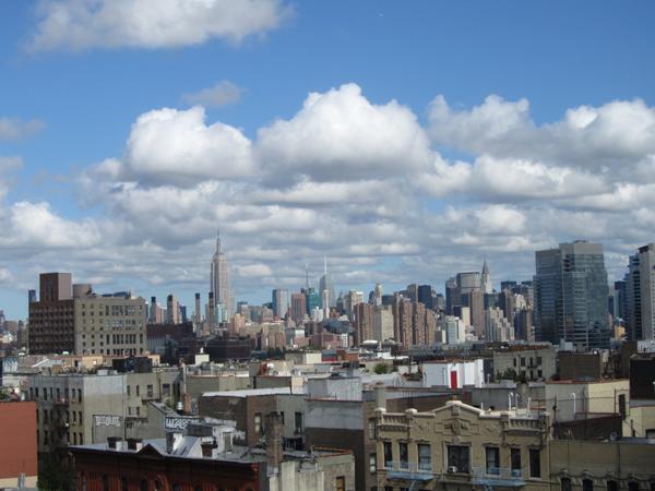 Blick nach Midtown Manhattan 2012 (eigenes Foto)