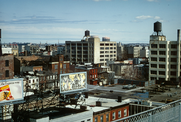Williamsburg an der Williamsburg Bridge ca. 1985 (eigenes Foto)