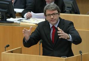 Marc Jan Eumann, Staatssekretär im Ministerium für Bundesangelegenheiten, Europa und Medien Foto: Landtag NRW