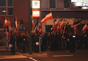 Nazi-Demonstration in Dortmund