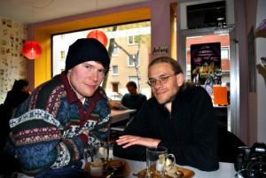 Sven Stienen und Sven Neidig. Foto: C. Hahn