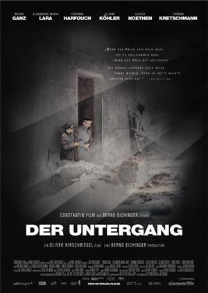 """""""Der Untergang"""", Film, Deutschland 2004, DVD-Cover"""