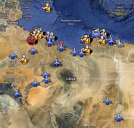 Aufruhr in Libyen