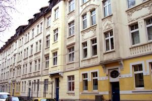 Fassade des Schüchtermannkarrees