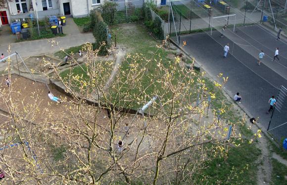 Innenhof des Schüchtermannkarrees