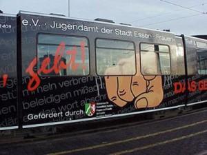 EVAG-Strassenbahn