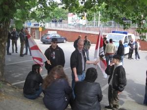 Nazis in Recklinghausen Foto: Indymedia/PD