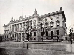 Das Berliner Abgeordnetenhaus um 1900