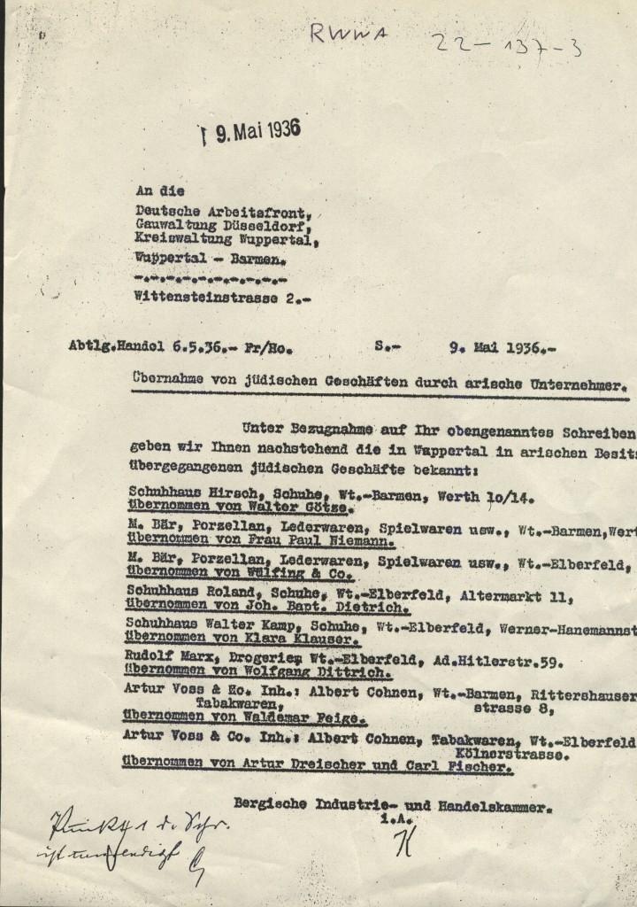 """pretty nice f11f5 3eabd Wuppertal: Schuhhaus Klauser feiert die """"Arisierung ..."""