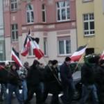 Nazi-Demo im Saarlandstraßenquartier im Dezember 2010
