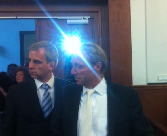 Envio-Chef Dirk Neupert (links) vor Gericht