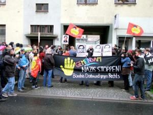 Gedenkveranstaltung zum Mord an Mehmet Kubaşik Foto: Indymedia Lizenz: CC