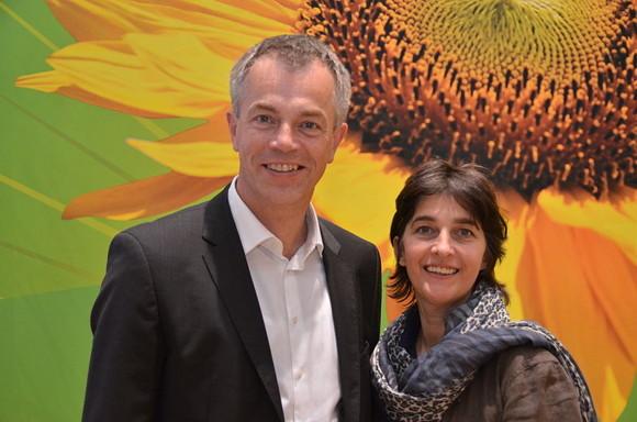 """Umweltminister Johannes Remmel und Barbara """"Eso-Babsi"""" Steffens"""