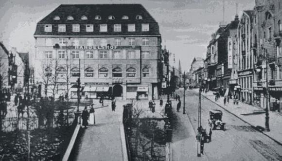 Handelshof um 1916