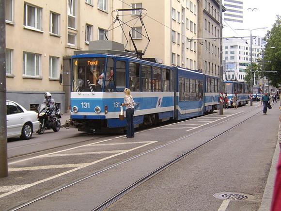 Straßenbahn in Tallin Foto: Doublex120 Lizenz: CC/GNU