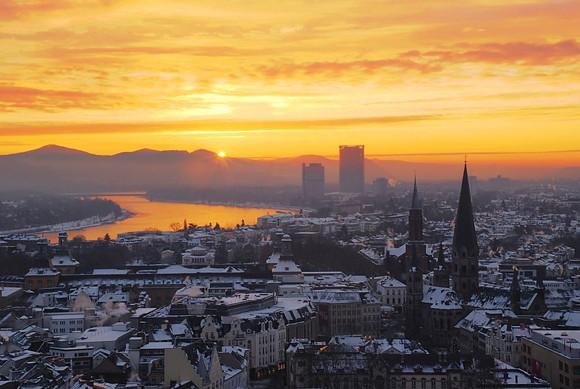 Bonn im Winter Foto: Matthias Zepper Lizenz: CC