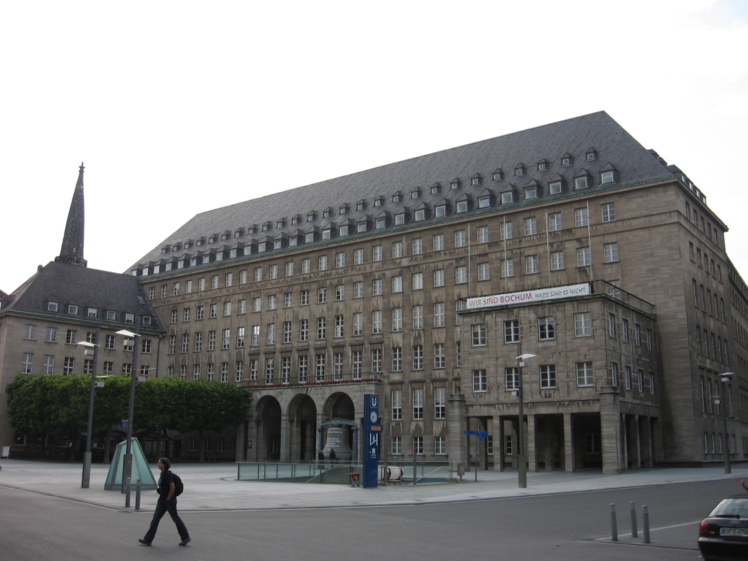 Das Bochumer Rathaus // Quelle: Wikimedia