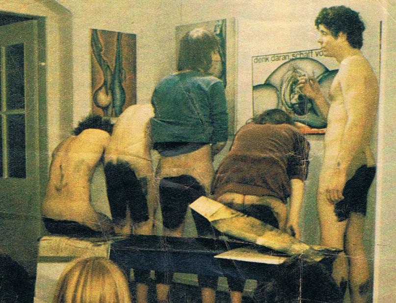 """Foto aus der Zeitschrift Stern im Artikel """"Ist das noch Kunst"""" / Quelle: Stern"""
