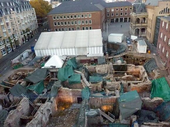 Die Grabungszone - Archäologische Zone Köln Foto: 1971markus Lizenz: CC