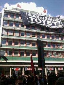 Proteste gegen Naziterror in München