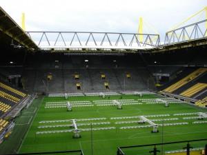 Wer wird hier nächstes Jahr für den BVB auflaufen? Foto: Robin Patzwaldt
