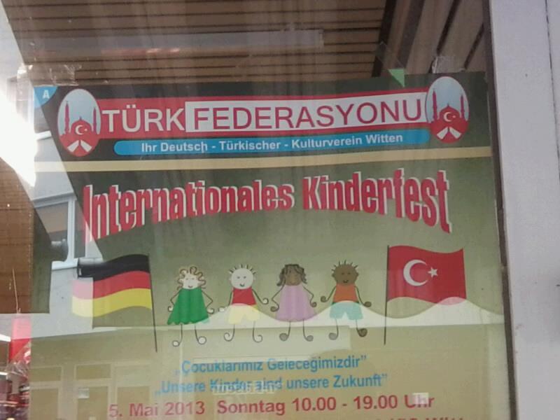 """Immer wieder tritt die """"Türk Federasyon"""" als Ausrichterin von Veranstaltungen in Witten auf"""