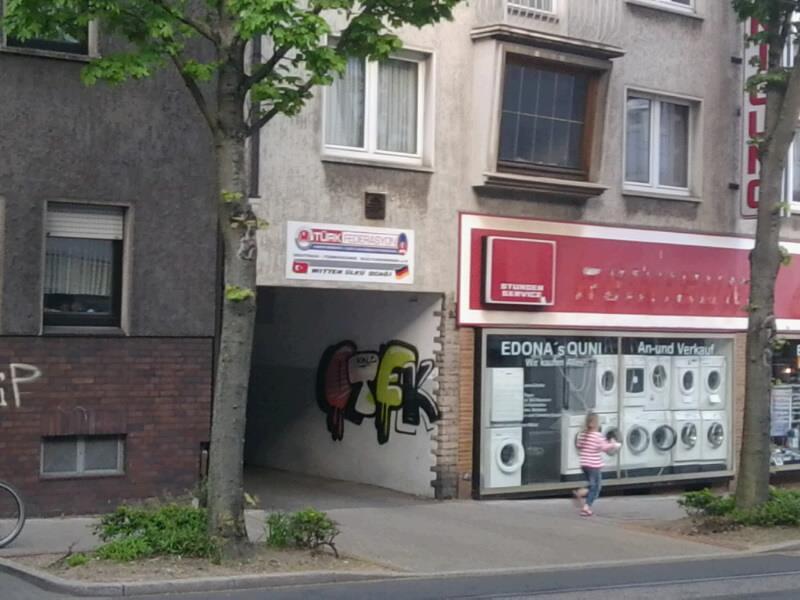 """Der """"Deutsch-Türkische Kulturverein - Türk Federasyon"""" an der Wittener Hauptstraße."""