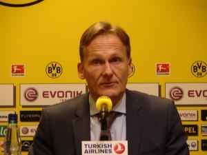 BVB-Chef Hans-Joachim 'Aki' Watzke. Foto: Robin Patzwaldt