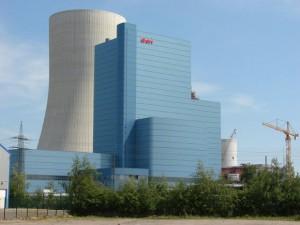 Die E.On-Kraftwerksbaustelle 'Datteln 4' im Frühsommer 2011. Foto Robin Patzwaldt