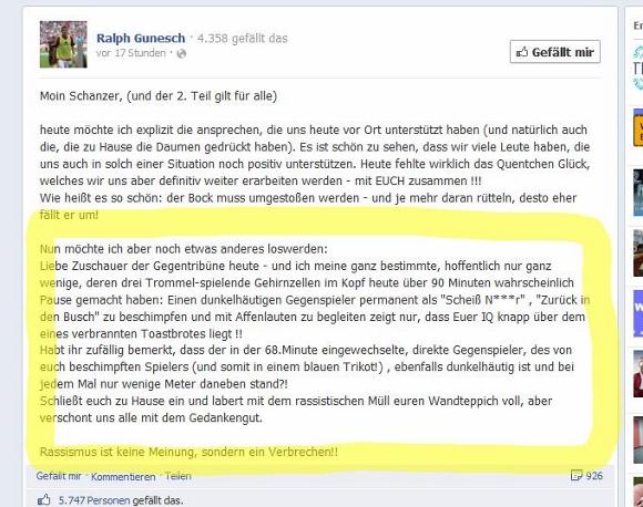 Facebook-Screenshot