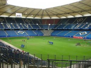 Das Stadion des HSV. Foto: Robin Patzwaldt