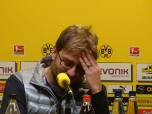BVB-Trainer Jürgen Klopp. Foto: Robin Patzwaldt
