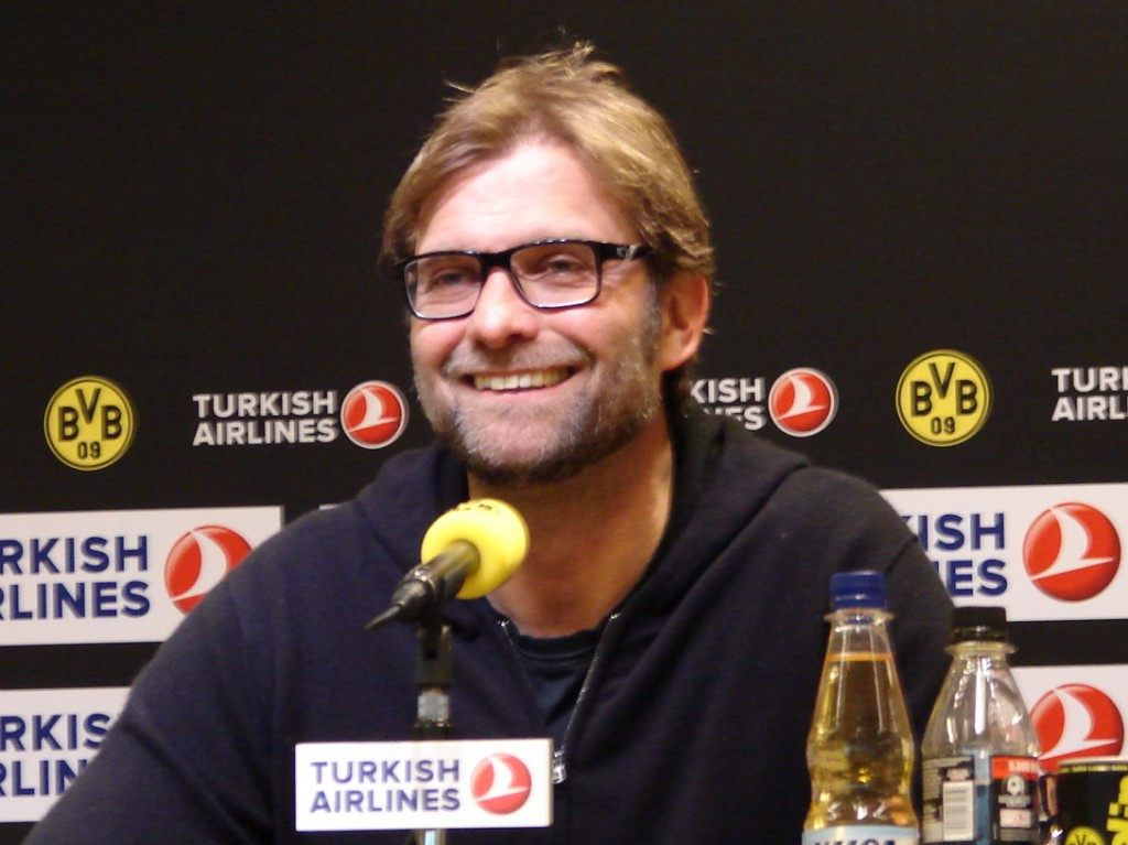 Jürgen Klopp. Foto: Robin Patzwaldt