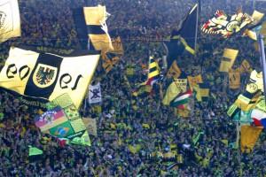 Fußball im Stadion kann so schön sein. Foto: BVB