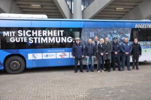 Dieser Bus fährt jetzt durch Bochum. Foto: VfL Bochum