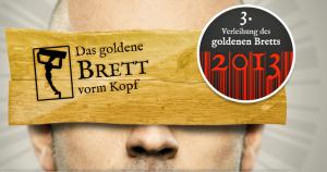 Das Logo der Aktion (Quelle: http://www.goldenesbrett.at/)