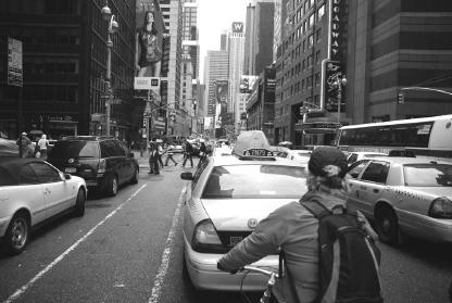 Auf dem Broadway