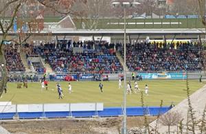 Fußball beim FSV Frankfurt. Quelle: Wikipedia; Foto: Dontworry; Lizenz: