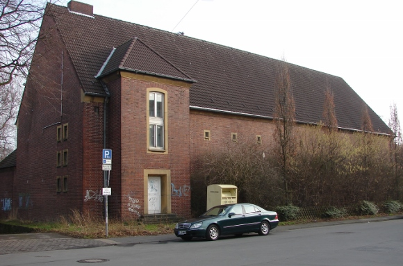 Der leerstehende Hochbunker in Waltrop im Januar 2014. Foto: Robin Patzwaldt