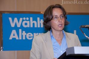 Beatrix von Storch - Vorsitzende der Zivilen Koalition e.V. und designierte AfD-Kandidation zur EU-Parlamentswahl