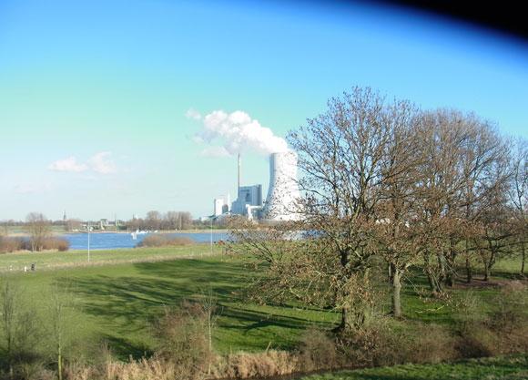 Kraftwerk in Duisburg