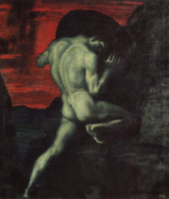 Sisyphus  von Franz Stuck