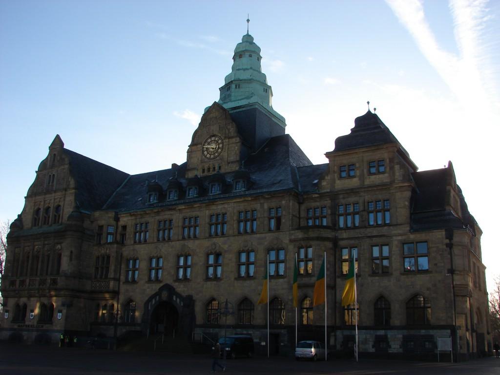 Rathaus Recklinghausen Foto: Robin Patzwaldt