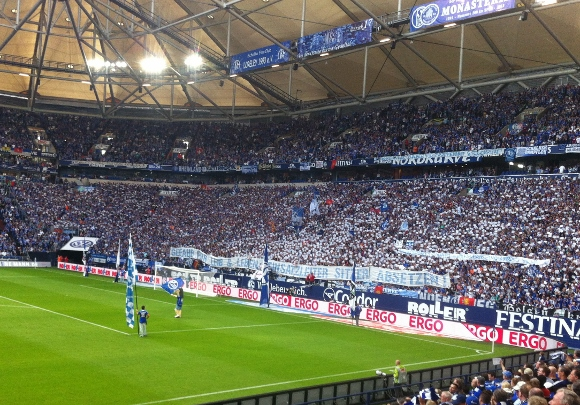 Die Arena auf Schalke. Foto: Michael Kamps