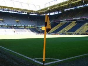 Die Plätze in Dortmund sind auch heute Abend heiss begehrt. Foto: Robin Patzwaldt