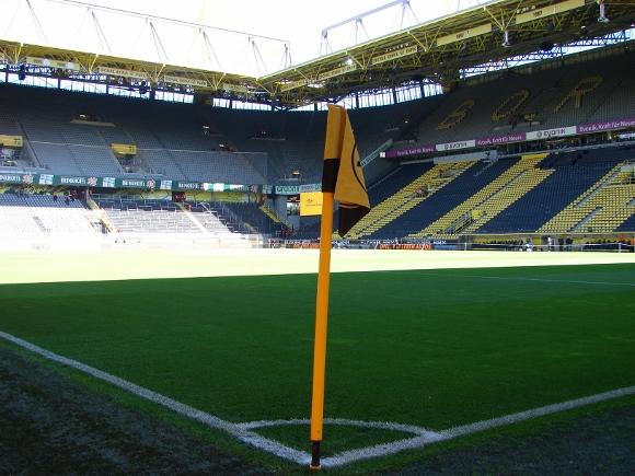 Das Stadion in Dortmund. Foto: Robin Patzwaldt