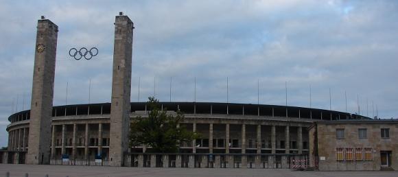 Das Berliner Olympiastadion. Foto: Robin Patzwaldt