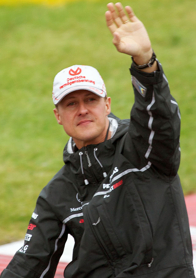 Michael Schumacher. Quelle: Wikipedia, Foto: Mark McArdle, Lizenz: CC BY-SA 2.0